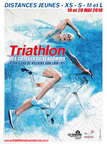 AFFICHE TRIATHLON VENDOME 2018 - Vincent Dogna